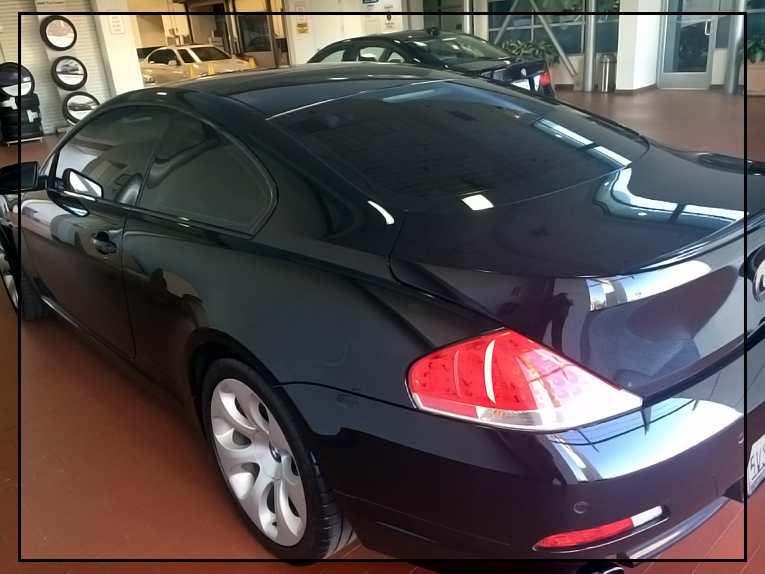 BMW 650i Detailing